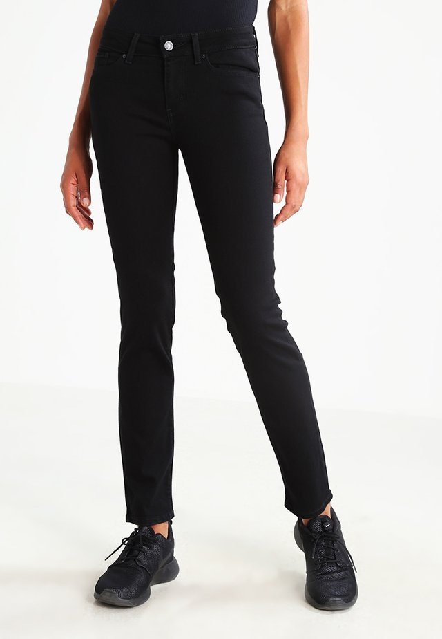 712 SLIM - Slim fit jeans - black sheep