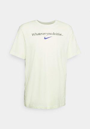 TEE - T-shirt print - lime ice