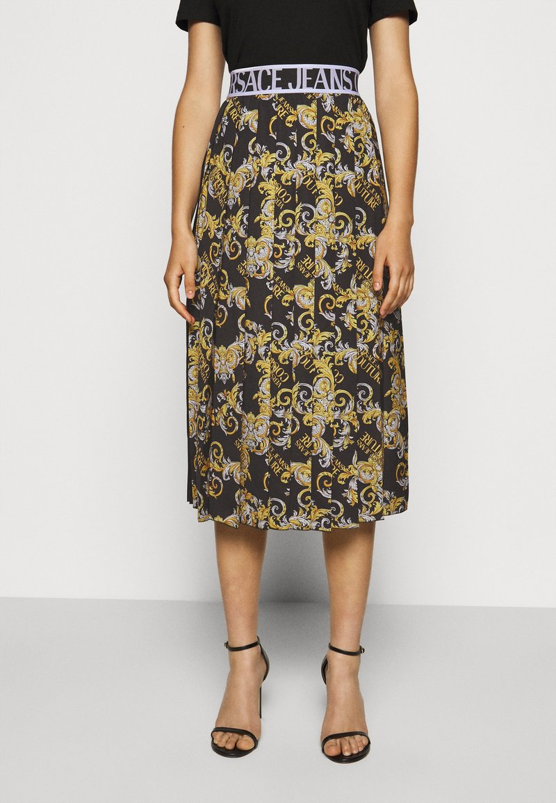 Versace Jeans Couture - A-line skirt - nero
