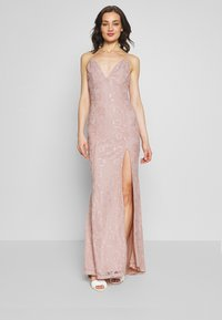 Nly by Nelly - IRRESISTABLE GOWN - Vestido de fiesta - dusty pink - 0