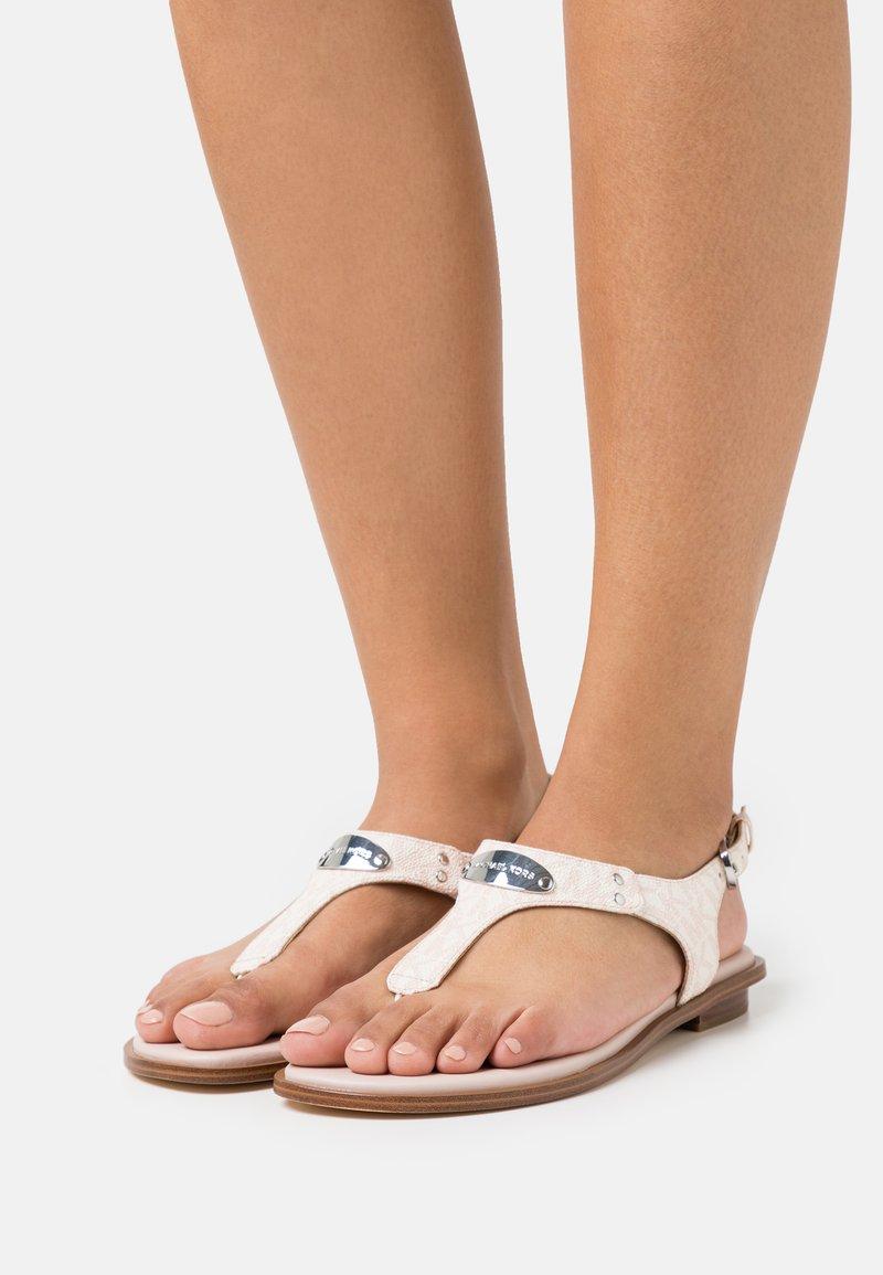 MICHAEL Michael Kors - PLATE THONG - Sandály s odděleným palcem - soft pink