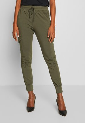 KASIGGI LINDA PANTS  - Cargo trousers - grape leaf