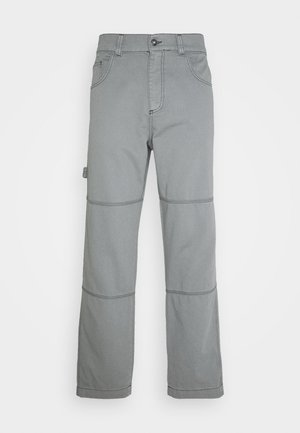 DRILL TROUSERS WITH TOPSTITCH - Pantaloni - monument