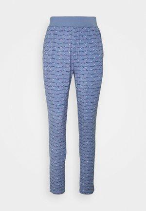 TROUSERS LONG - Pyjamasbukse - blue-medium-allover