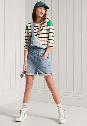 COLLEGIATE IVY LEAGUE  - Long sleeved top - chalk stripe green