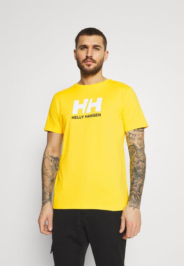 LOGO - Print T-shirt - dandelion