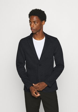 BIRK SLIM - Blazer jacket - anthracite/black