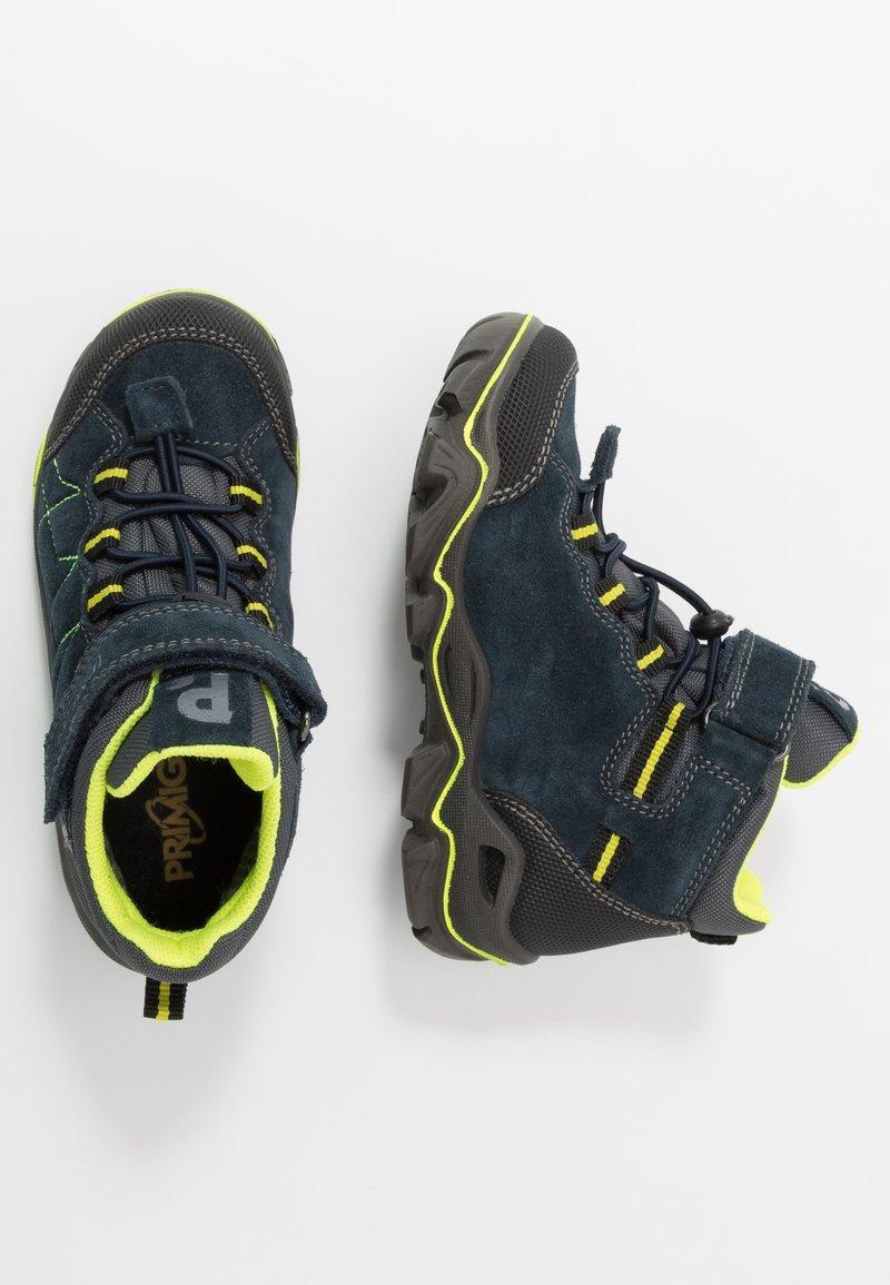 Primigi - Lace-up ankle boots - navy/nero/grigio