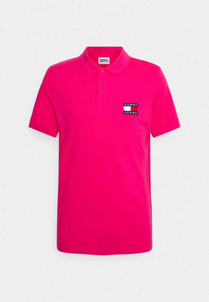 Tommy Jeans - BADGE LIGHTWEIGHT - Polo shirt - pink