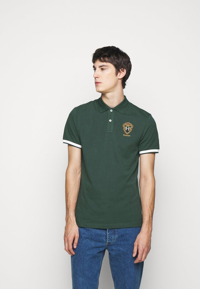 BLACKWATCH CREST - Polo - spruce