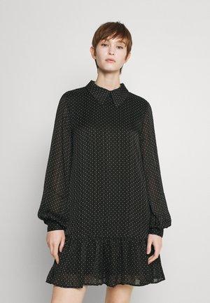 JDYRENNA ABOVE KNEE DRESS - Day dress - black/white