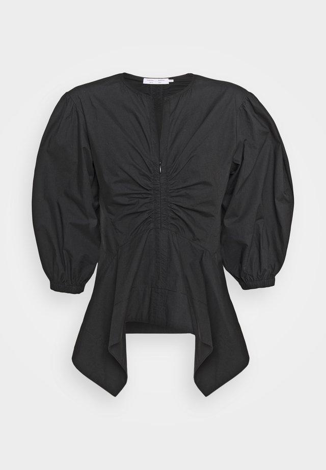 PEPLUM - Blouse - black