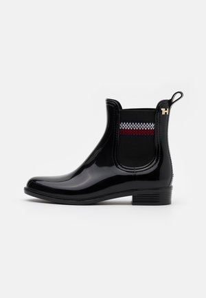 CORPORATE ELASTIC RAINBOOT - Kumisaappaat - black
