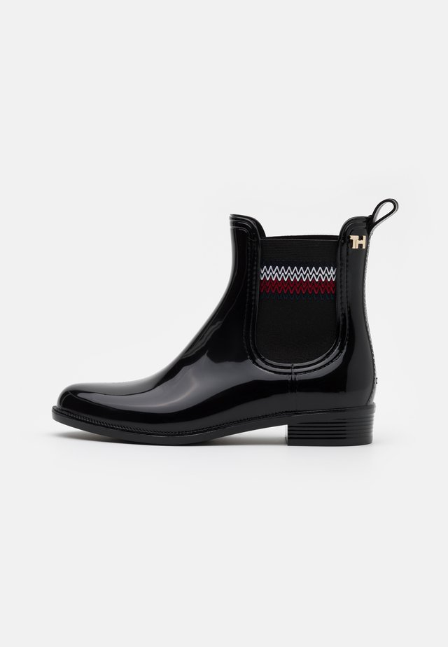 CORPORATE ELASTIC RAINBOOT - Kalosze - black