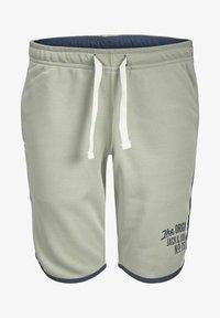 Jack & Jones Junior - Tracksuit bottoms - neutral gray - 5