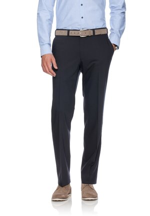 JAN  HERRENHOSE FLATFRONT - Pantalon - dark blue