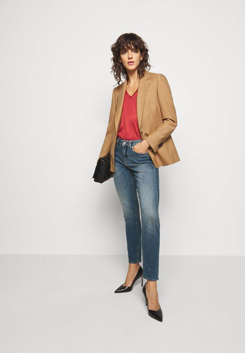 DRYKORN PULL - Jeans Skinny Fit - blau/light-blue denim WtXCeV