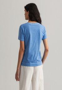 GANT - SUNFADED - Print T-shirt - pacific blue - 2