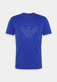 Emporio Armani - T-shirt z nadrukiem - dark blue - 5