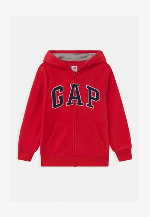 BOY ARCH HOOD - Fleece jacket - pure red