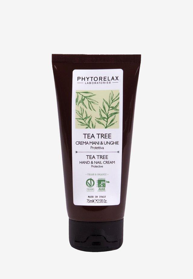 VEGAN & ORGANIC TEA TREE - PROTECTIVE HAND & NAILS CREAM  - Håndcreme - -