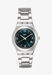 Swatch - MIDDLESTEEL - Orologio - silver-coloured/green - 1