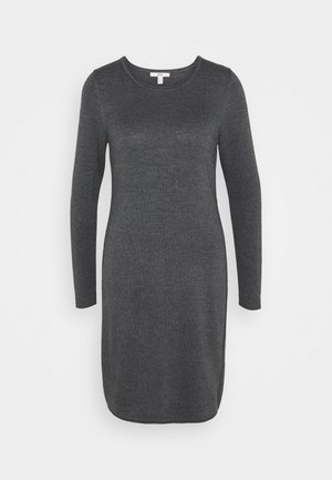 DRESS - Strickkleid - dark grey