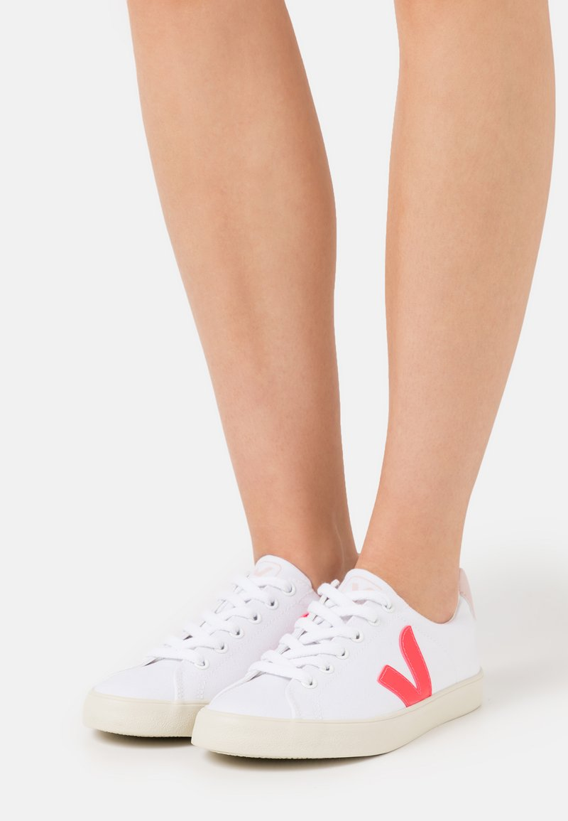 Veja - ESPLAR SE - Trainers - white/rose/fluo/petale