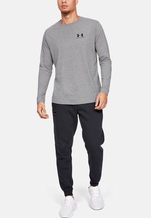 SPORTSTYLE LEFT CHEST - Koszulka sportowa - steel light heather