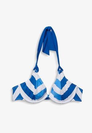 Bikini top - bright blue