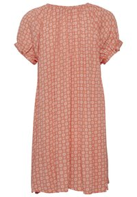 Kaffe - Tunic - coral and chalk small graphic - 4