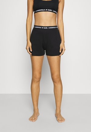 LOGO  - Pyjama bottoms - black