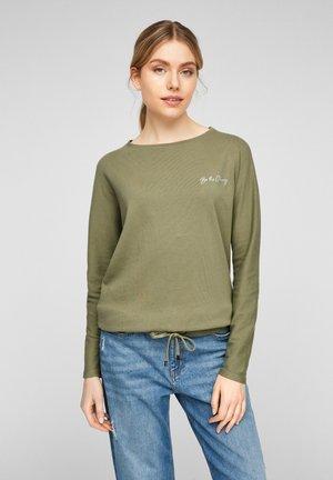 LANGARM - Sweatshirt - khaki