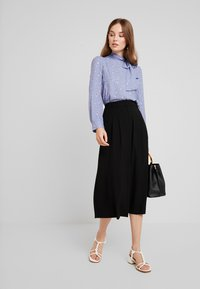 mint&berry - Blouse - blue/white/brown - 1