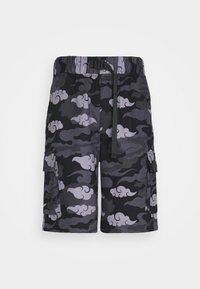 SIKSILK - AOKI CARGO  - Shorts - black/grey - 3