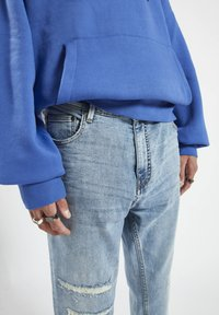 PULL&BEAR - Jeans straight leg - blue-grey - 4