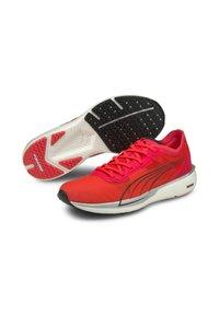 Puma - LIBERATE NITRO - Competition running shoes - sunblaze puma white - 1