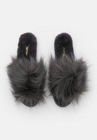 flip*flop - HAIRY POOL - Slippers - steel - 5
