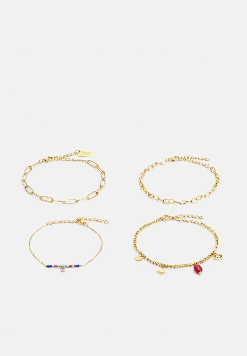 sweet deluxe - 4 PACK - Bracelet - gold-coloured