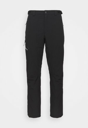 BATESVILLE - Pantalons outdoor - black
