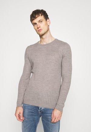 Pullover - light camel