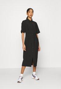 EDITED - LAILA DRESS - Shirt dress - schwarz - 0