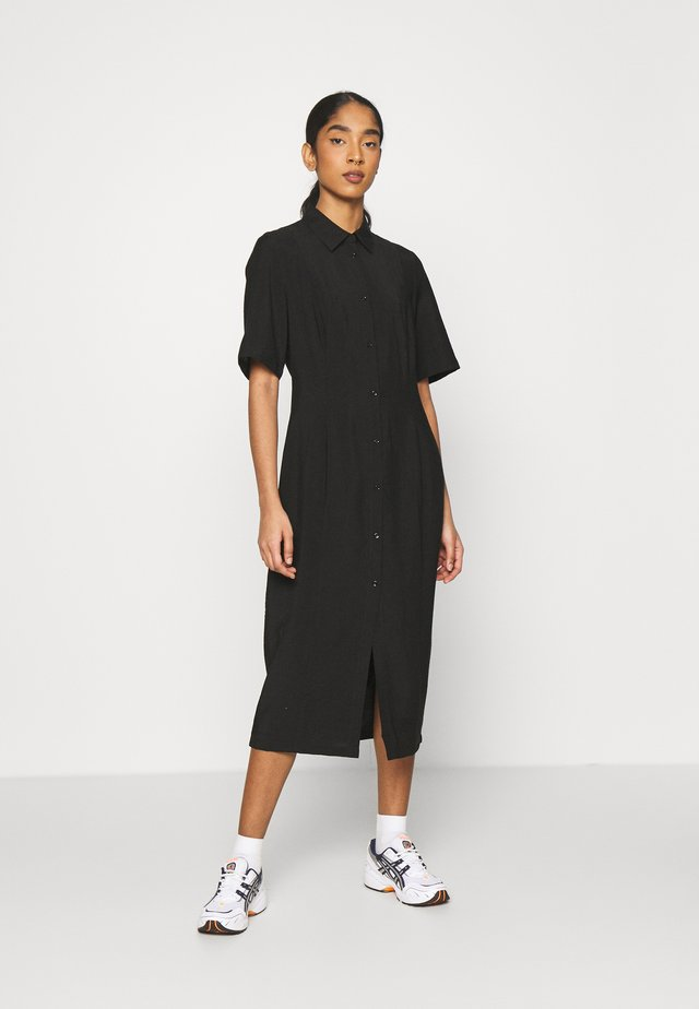 LAILA DRESS - Shirt dress - schwarz