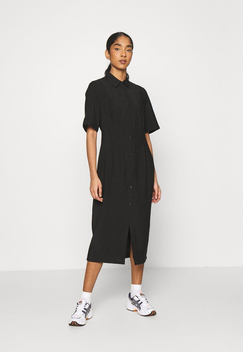 EDITED - LAILA DRESS - Shirt dress - schwarz