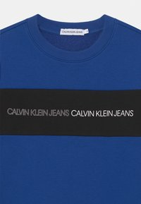 Calvin Klein Jeans - COLOUR BLOCK LOGO  - Sweatshirt - blue - 2
