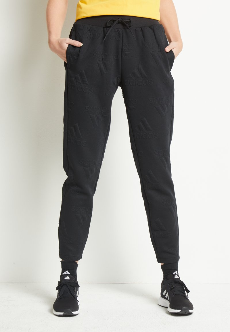 adidas Performance - Teplákové kalhoty - black