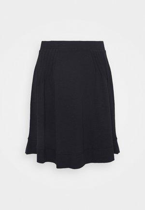 FLARE SKIRT - Minifalda - black