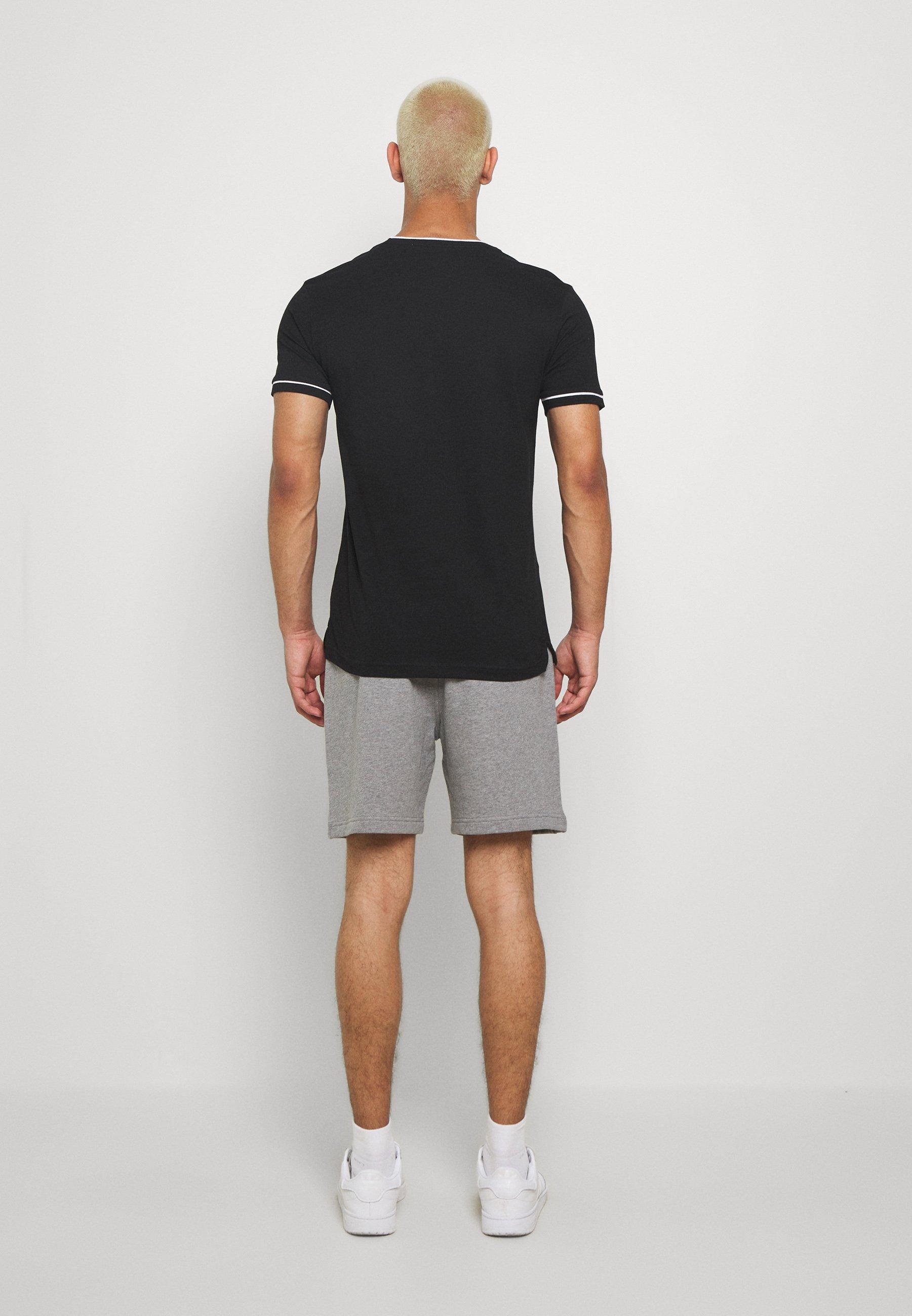 Calvin Klein Jeans SIDE LOGO - Pantalon de survêtement - mid grey heather