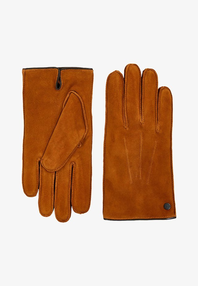 Gloves - caramel
