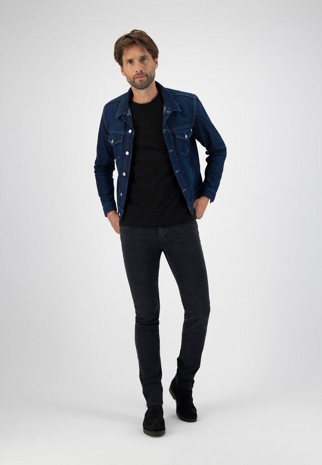 Spijkerjas - dark-blue